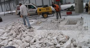 Çayırova beton kesimi