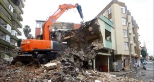 Çayırova bina yıkımı